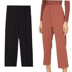 NWOT Aritzia Babaton Topher Pant Size 4 Black Crop